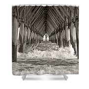 Life Is Good On Topsail Scp Shower Curtain