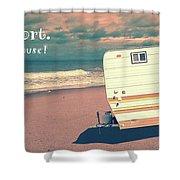 Life Is Short Buy The Beach House Mug Shower Curtain
