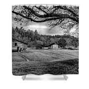 Life Leads Us Along Many Paths Shower Curtain