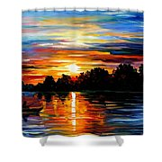 Life Memories Shower Curtain by Leonid Afremov