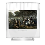 Life Of George Washington - The Soldier Shower Curtain