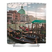 Life Of Venice - Italy Shower Curtain