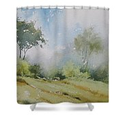 Life On The Edge Shower Curtain