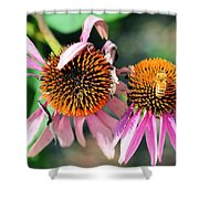 Life Preservation Shower Curtain