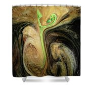 Life Prevailing Shower Curtain