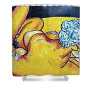 Life Study Of The Female Figure 15 Shower Curtain