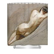 Life Study Of The Female Figure Shower Curtain
