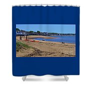 Life's A Beach In Provincetown Cape Cod Shower Curtain
