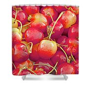 Life's A Bowl Of Cherries Shower Curtain