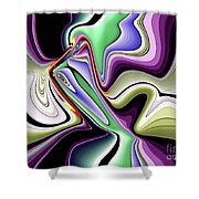 Life's Creation Shower Curtain