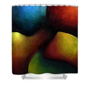 Life's Fruit Shower Curtain