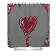 Lifes Grey Area Shower Curtain
