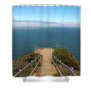 Life's Lookout Shower Curtain