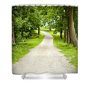 Life's Path Shower Curtain