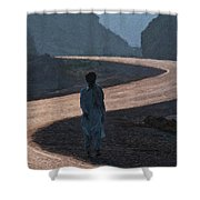 Life's S Curves Shower Curtain