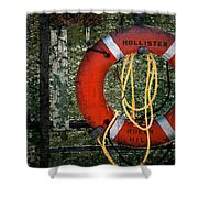 Lifesaver Shower Curtain
