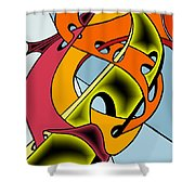 Lifeways Shower Curtain