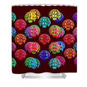 Lift Wrapper Shower Curtain