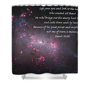 Lift Your Eyes Shower Curtain