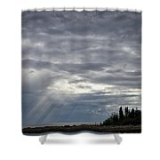 Light After The Storm Shower Curtain