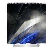 ''light And Blue Disc No.110'', Thu--17sep2015 Shower Curtain