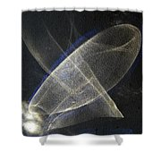 ''light And Blue Disc No.34'', Thu--10sep2015 Shower Curtain