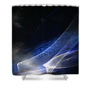 ''light And Blue Disc No.35'', Tue--22sep2015 Shower Curtain