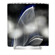 ''light And Blue Disc No.84'', Mon--14sep2015 Shower Curtain
