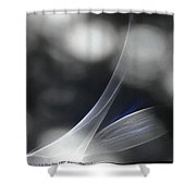 ''light And Blue Disc No.85'', Mon--14sep2015 Shower Curtain