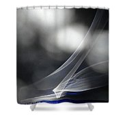 ''light And Blue Disc No.86'', Mon--14sep2015 Shower Curtain