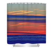 Light And Dark Clouds  Shower Curtain