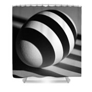 Light And Egg 19 Shower Curtain