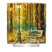 Light And Passion Shower Curtain