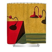 Light And Shadow II Shower Curtain