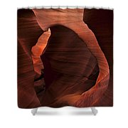 Light At Tne End Of The Tunnel Shower Curtain