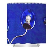 Light Balls Shower Curtain