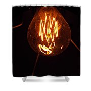 Light Bulb 002 Shower Curtain