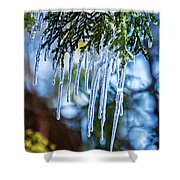 Light Chimes 4 Shower Curtain