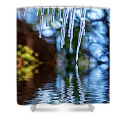 Light Chimes 5 Shower Curtain