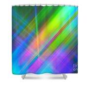 Light Color Hatch Shower Curtain