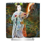 Light Dance Shower Curtain