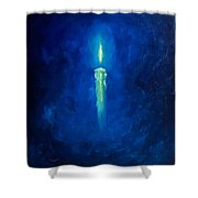 Light For Cold Soul Shower Curtain