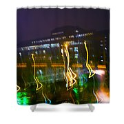 Light Ghosts Shower Curtain