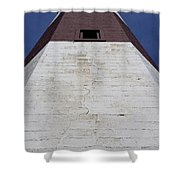 Light House At Montauk  Shower Curtain