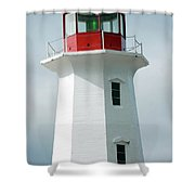 Light House Peggy's Cove Shower Curtain
