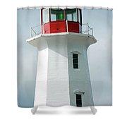 Light House Peggy's Cove Shower Curtain