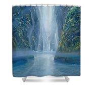 Light Idea Shower Curtain