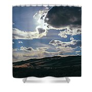 Light In The Distance Shower Curtain
