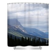 Light In The Valley Shower Curtain