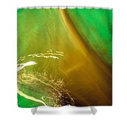 Light, Leaves N Water... Shower Curtain